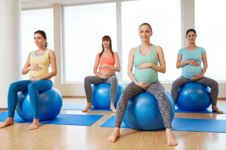 Can Bouncing On A Yoga Ball Break Your Water