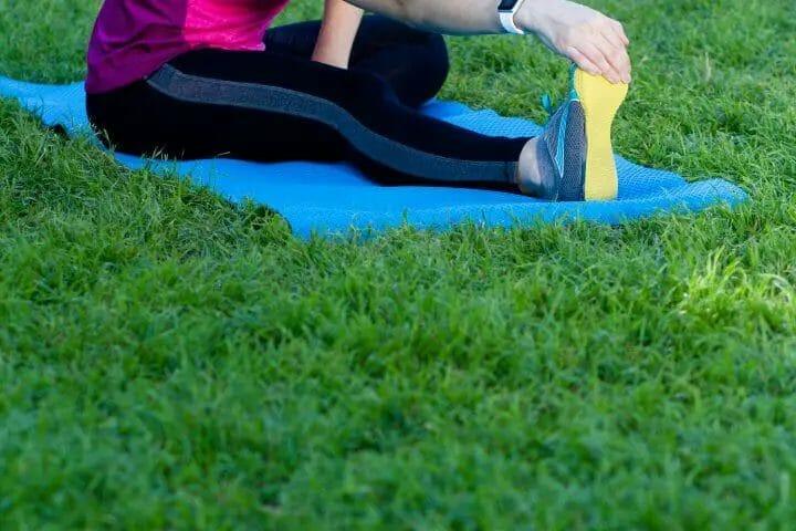 When Yoga Pants Roll Down